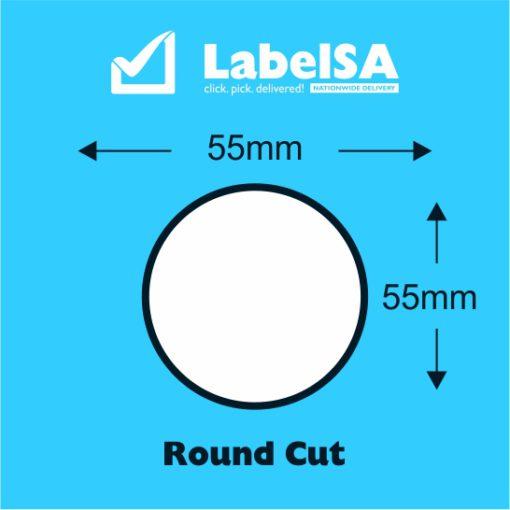 Round Online Vape Label Printing
